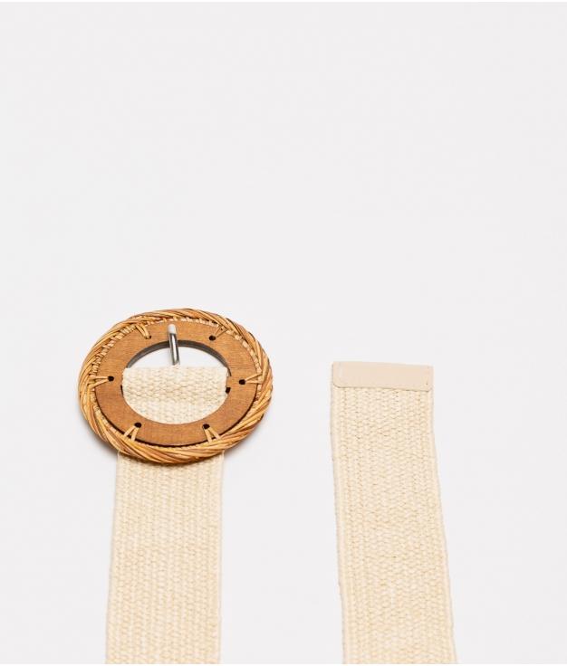 cinturon mariela - beige