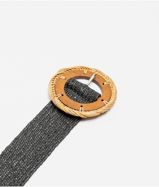 cinturon mariela - negro
