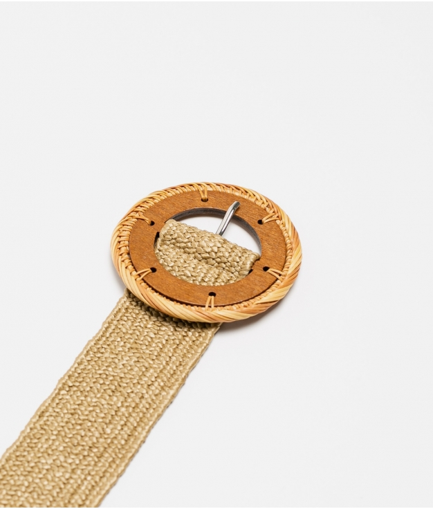 cinturon mariela - kaki