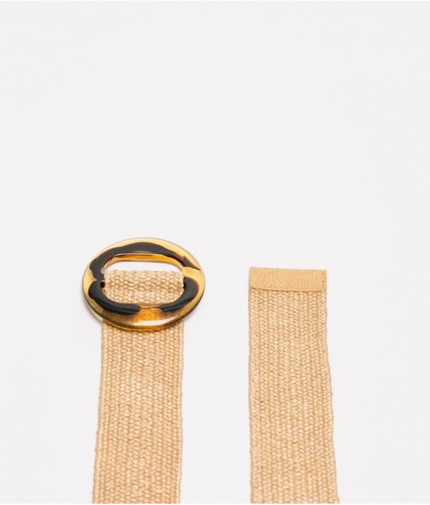 cinturon leopa - kaki