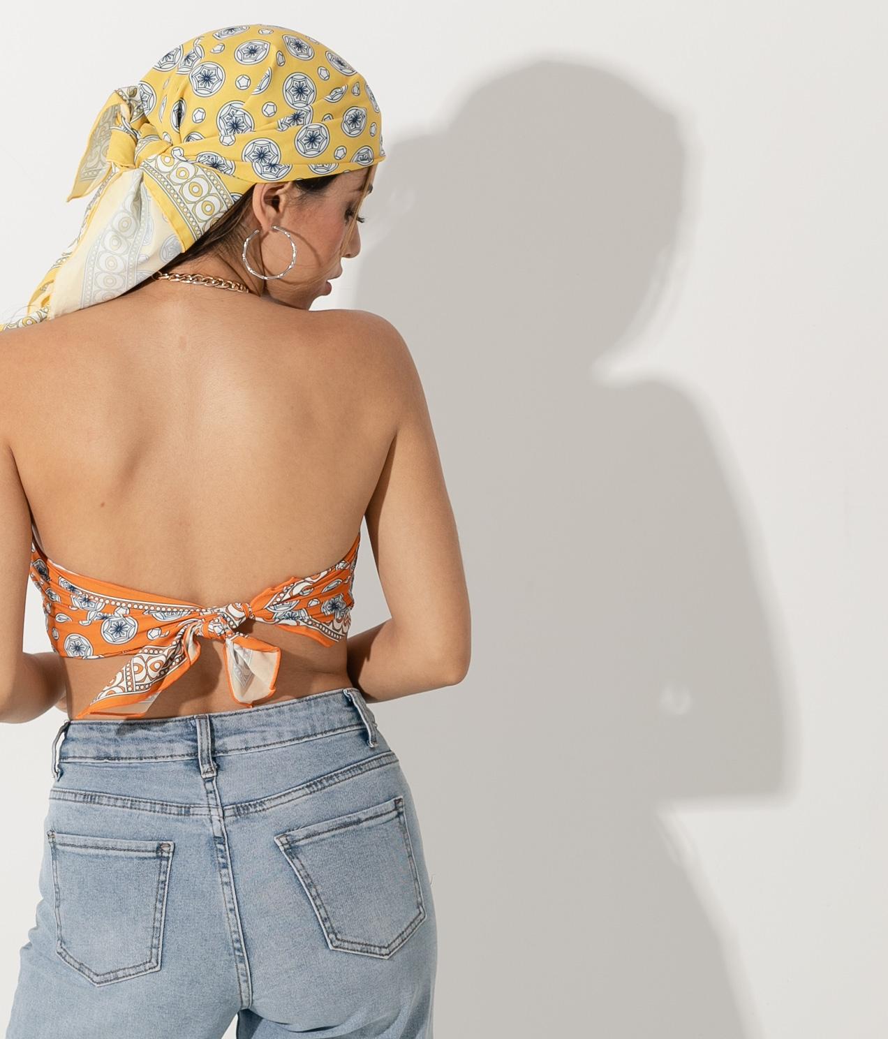 Top Gelira - Naranja