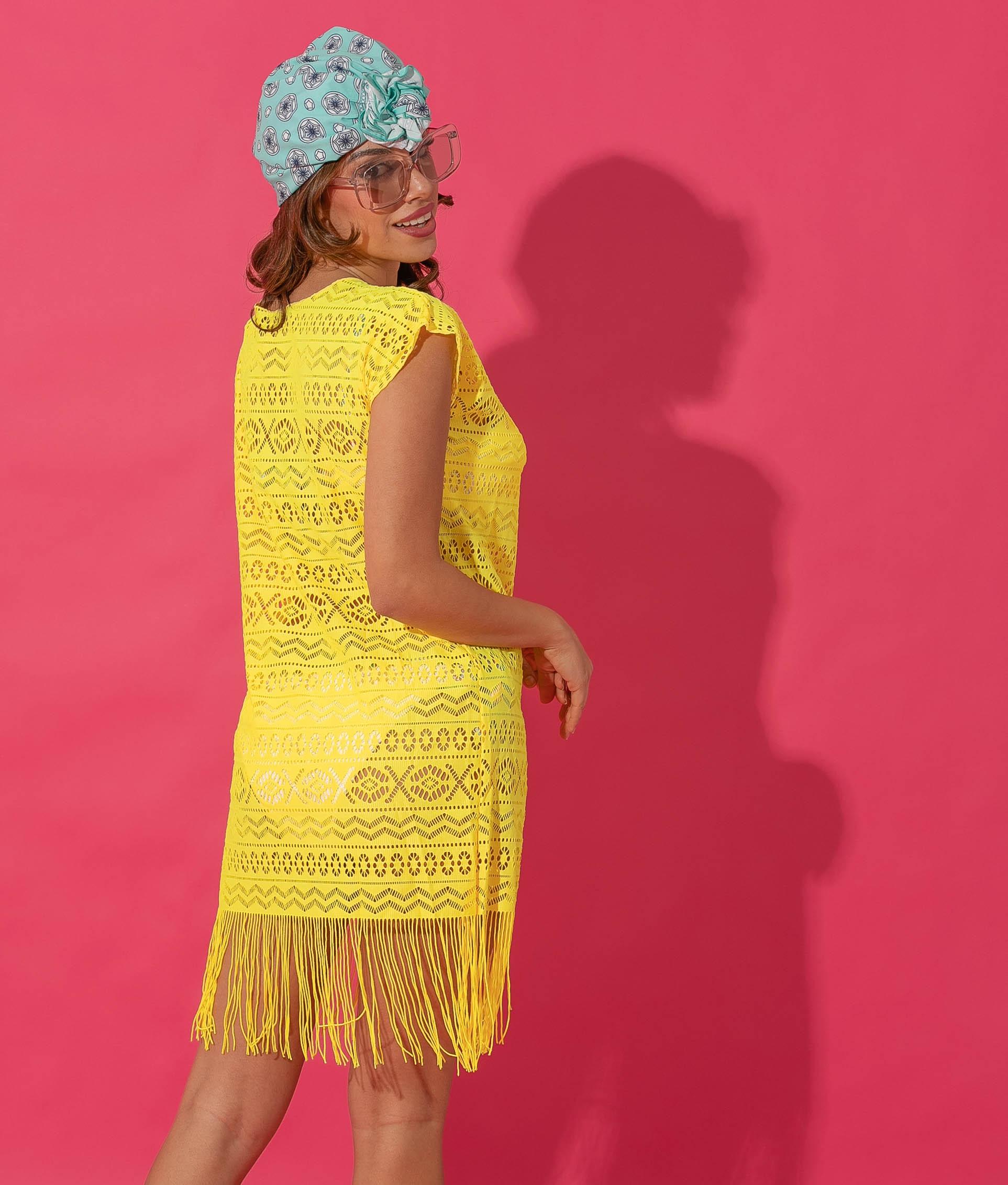 BRANOL DRESS - YELLOW
