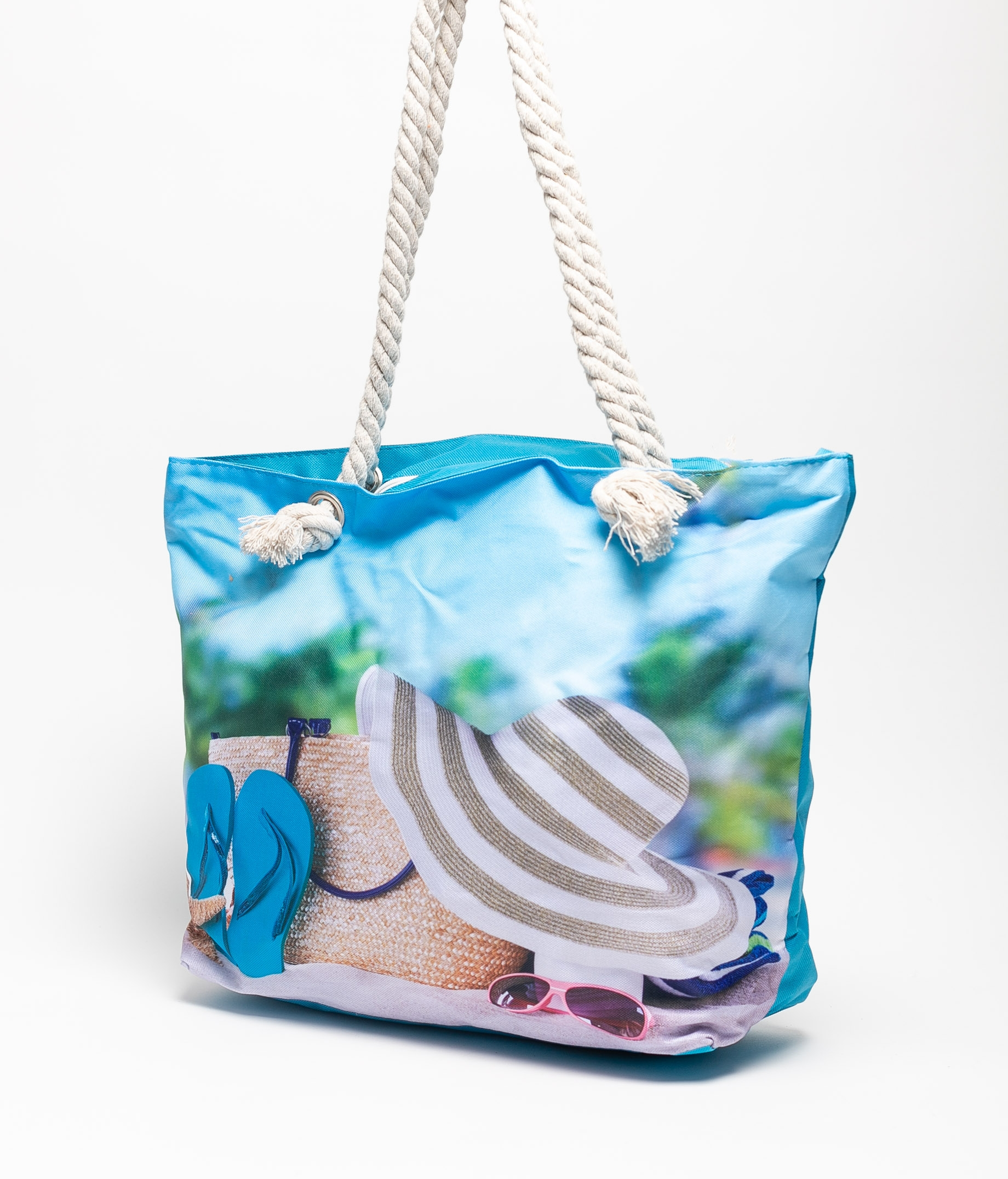 MARINA BEACH BAG - CELESTE HAT
