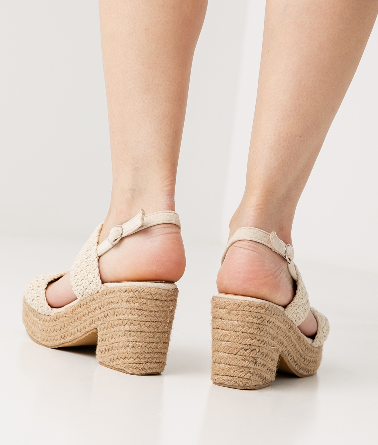 Sandalo Alto Blemy - Beige