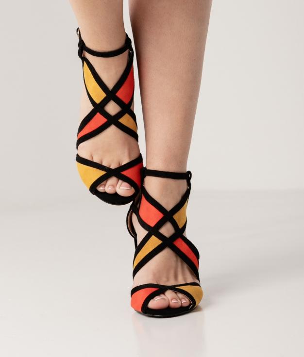 High Sandal Indora - Yellow