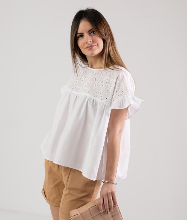 Blusa Pinole - Blanco