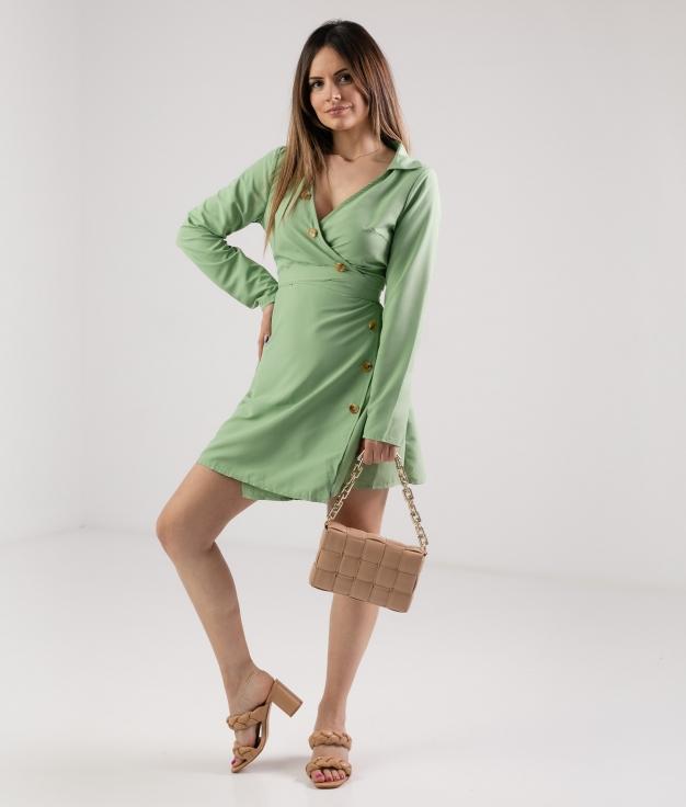 Vestido Firdos - Verde