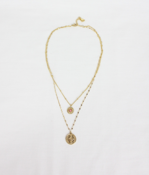 NECKLACE PAZZI - GOLDEN