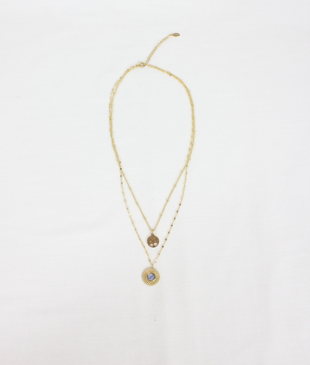 COLLIER NERI - D'OR