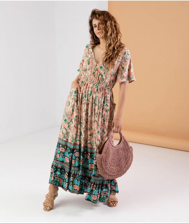 Vestido Poral - Rosa
