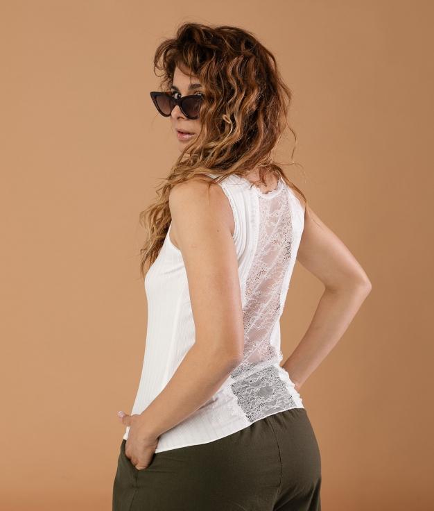 Camiseta Munye - Blanco