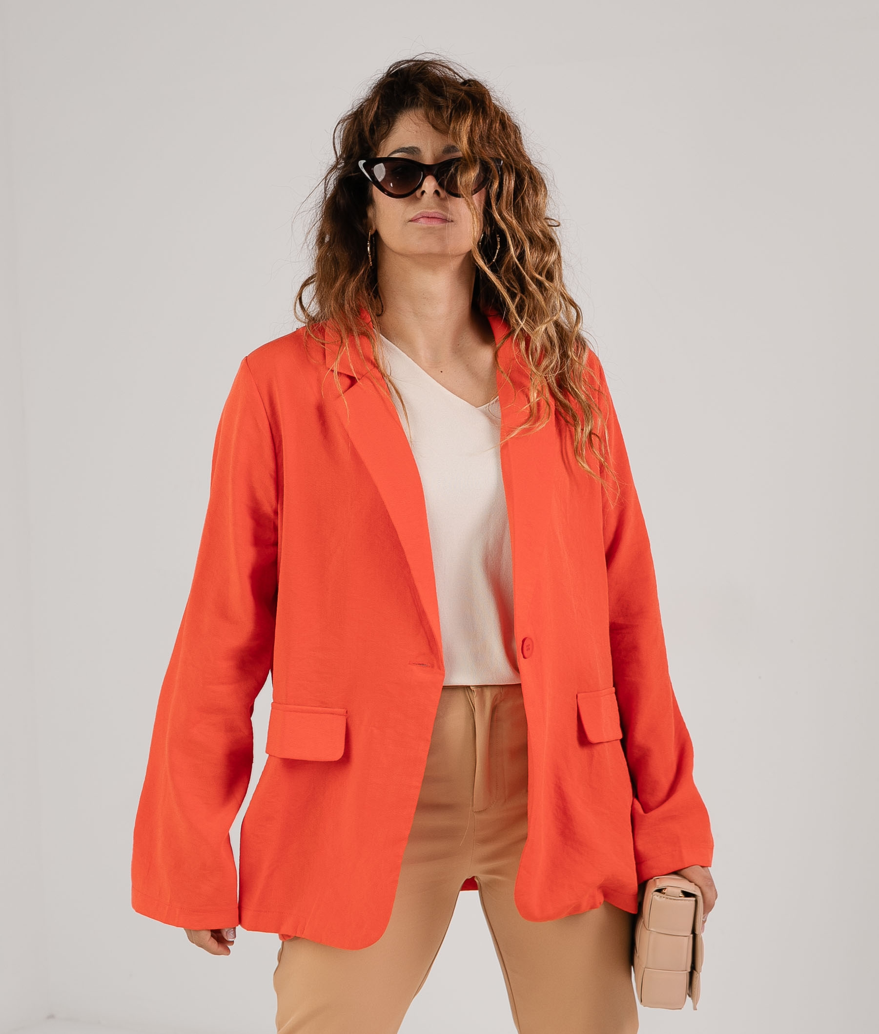 Blazer Sunade - Naranja