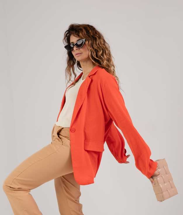 Blazer Sunade - Orange
