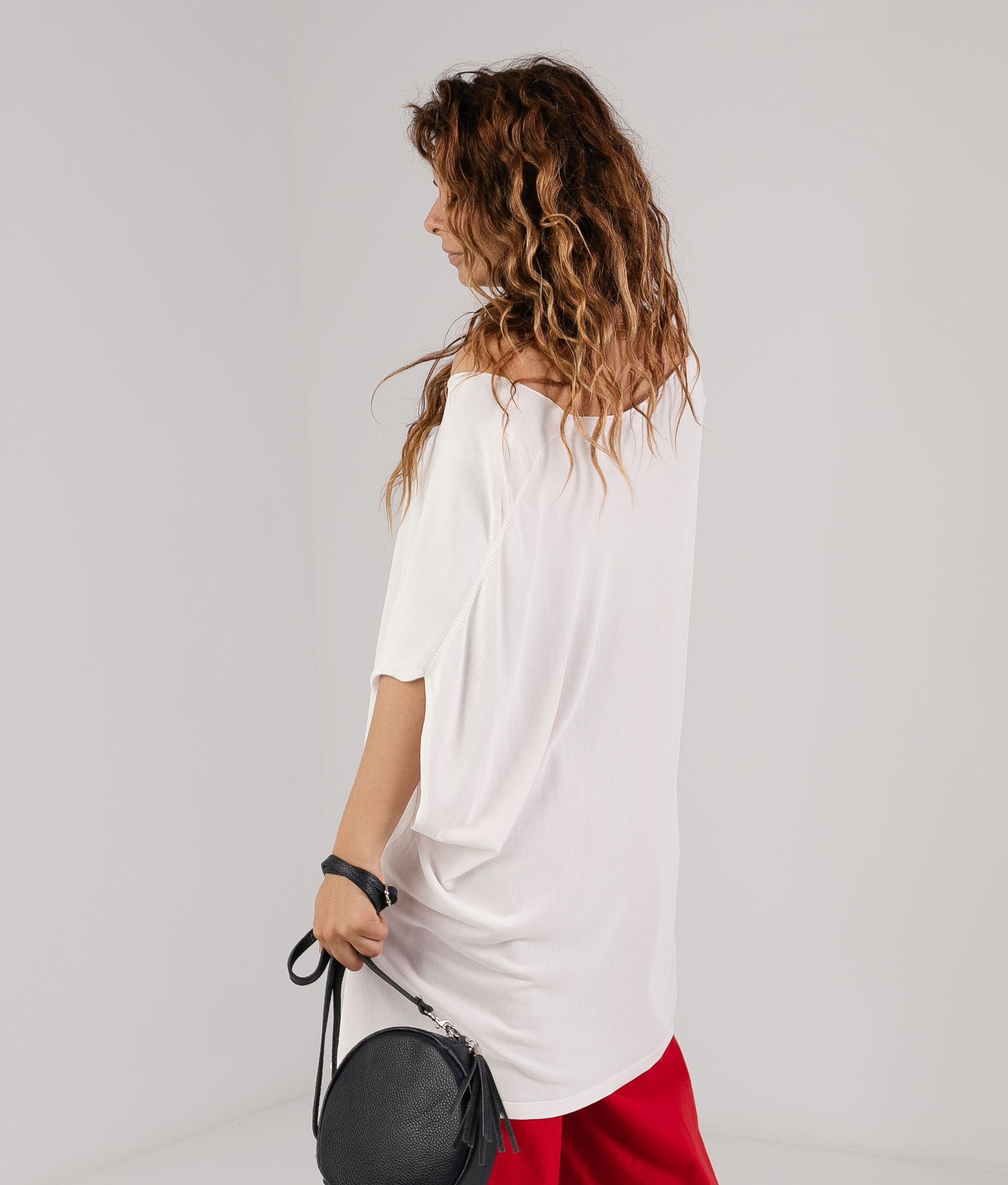 Camiseta Pistol - Blanco