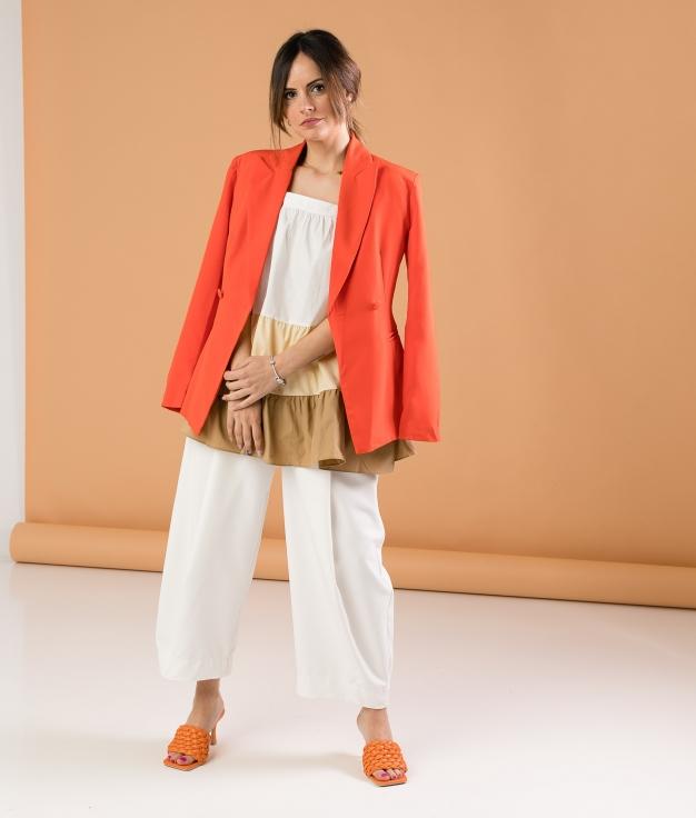 Blazer Musua - Naranja