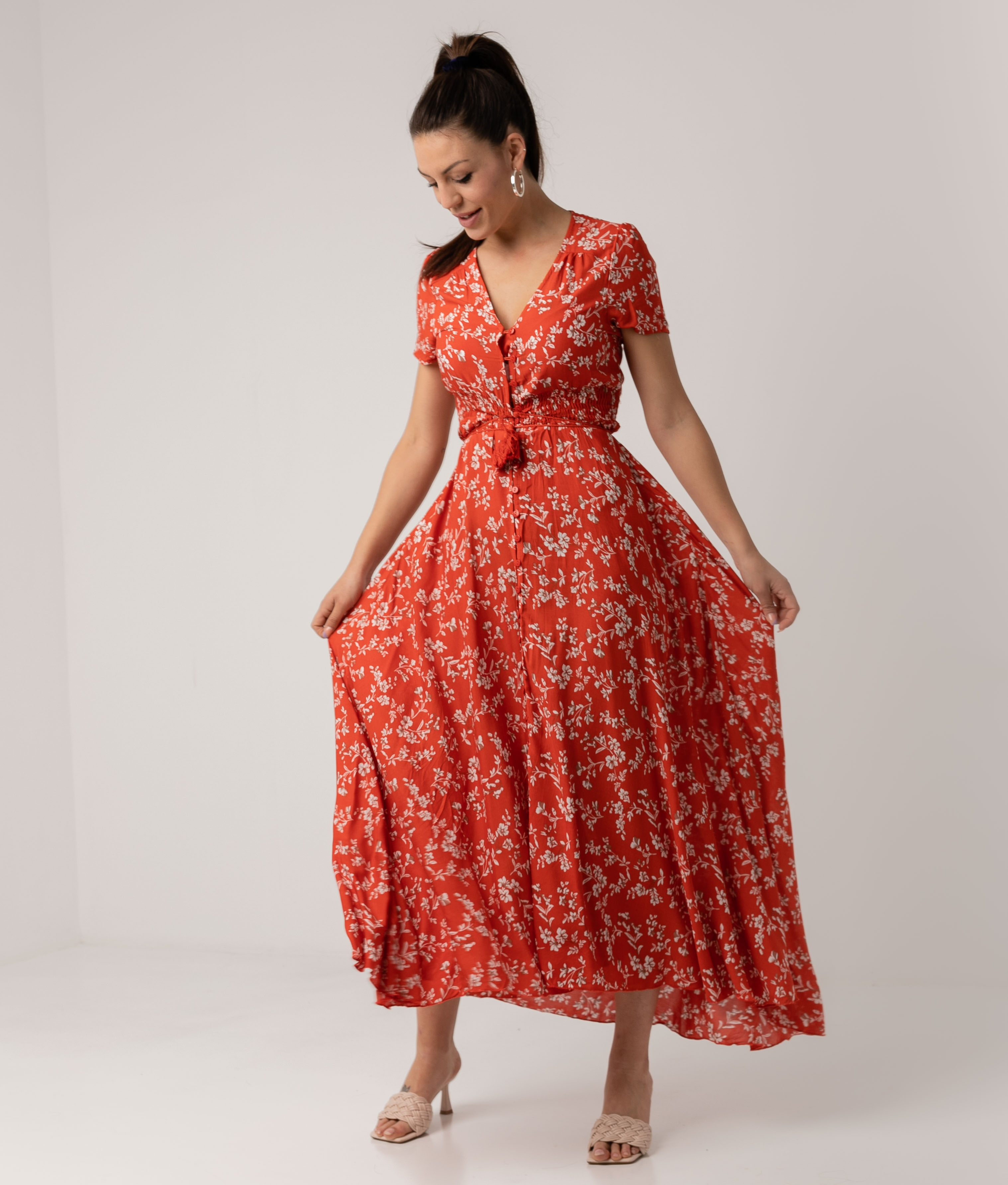 Vestido Mikini - Vermelho