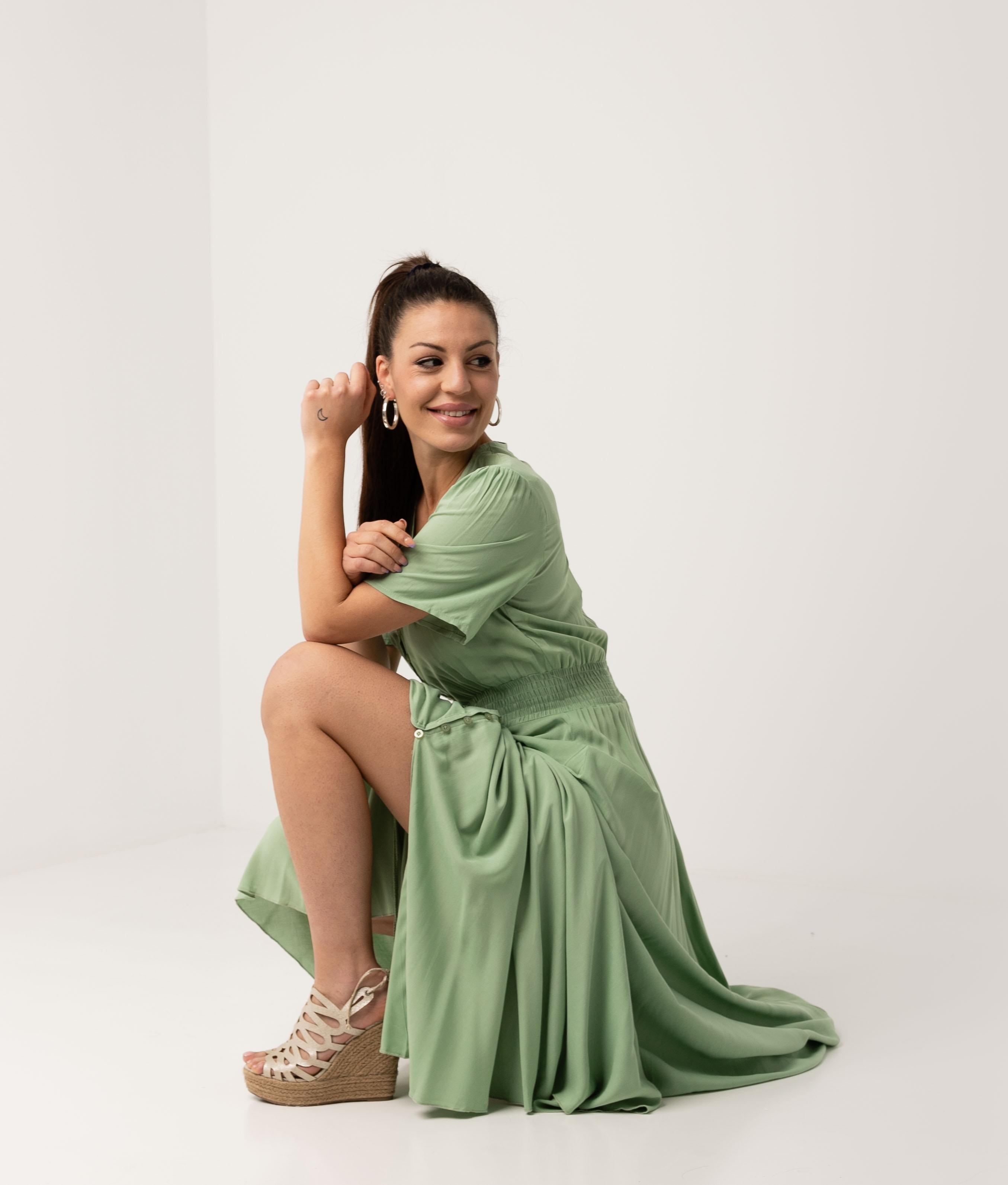 Vestido Desal - Green
