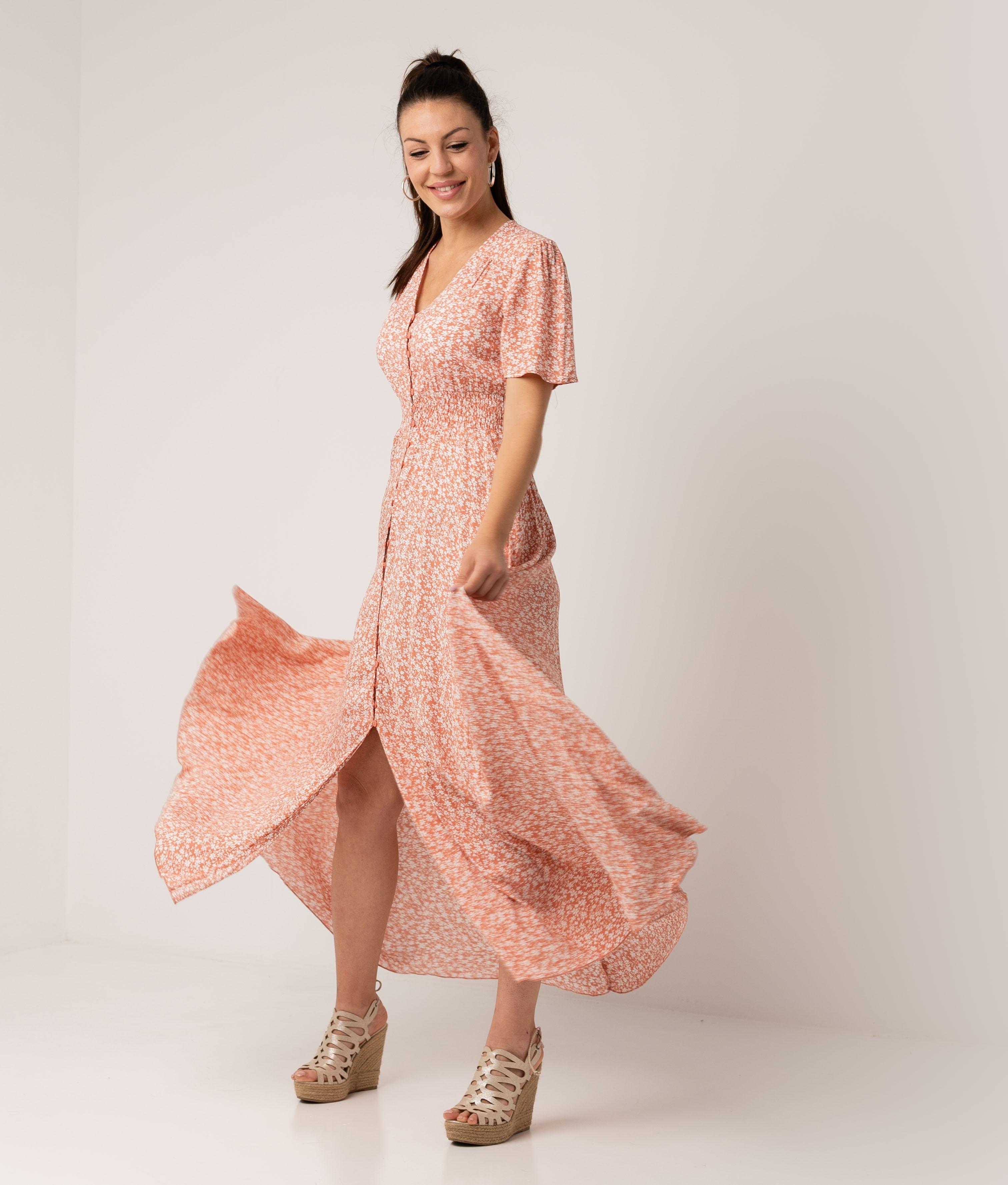 Vestido Conara - Rosa