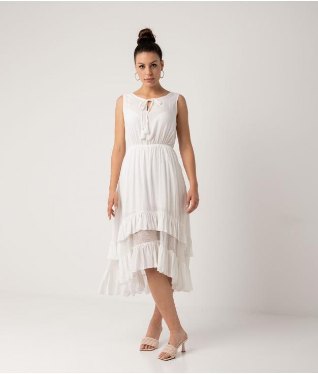 Vestido Duleni - Blanco