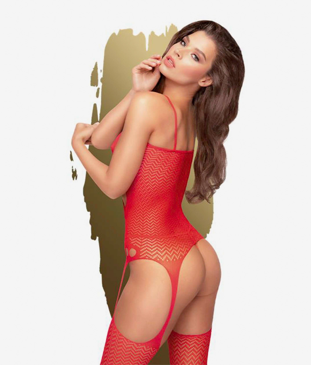 BODY PENTHOUSE HOT - RED