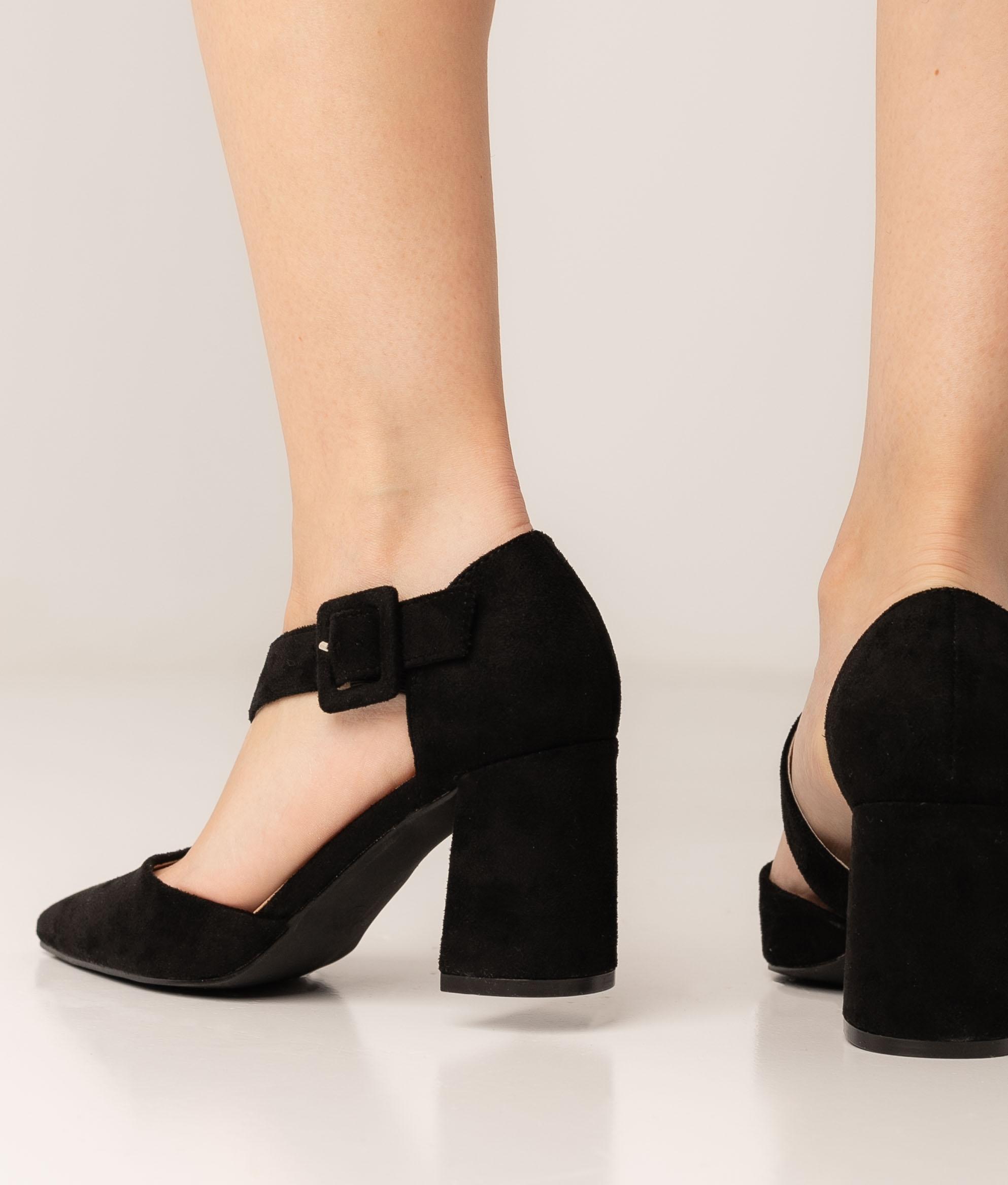 Sapato de Salto Omera - Preto