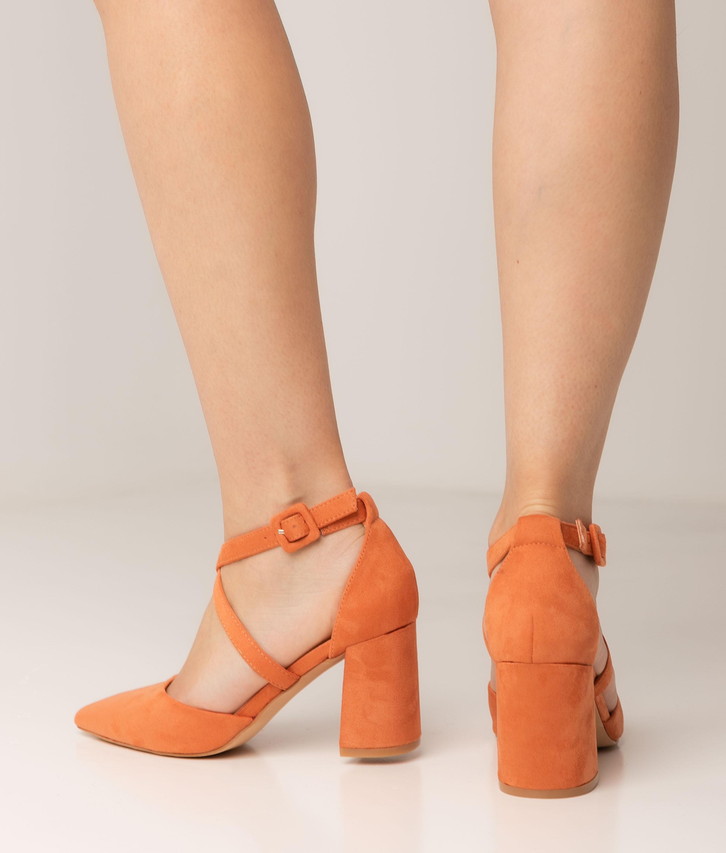 Tacco Alto Pletia - Arancione