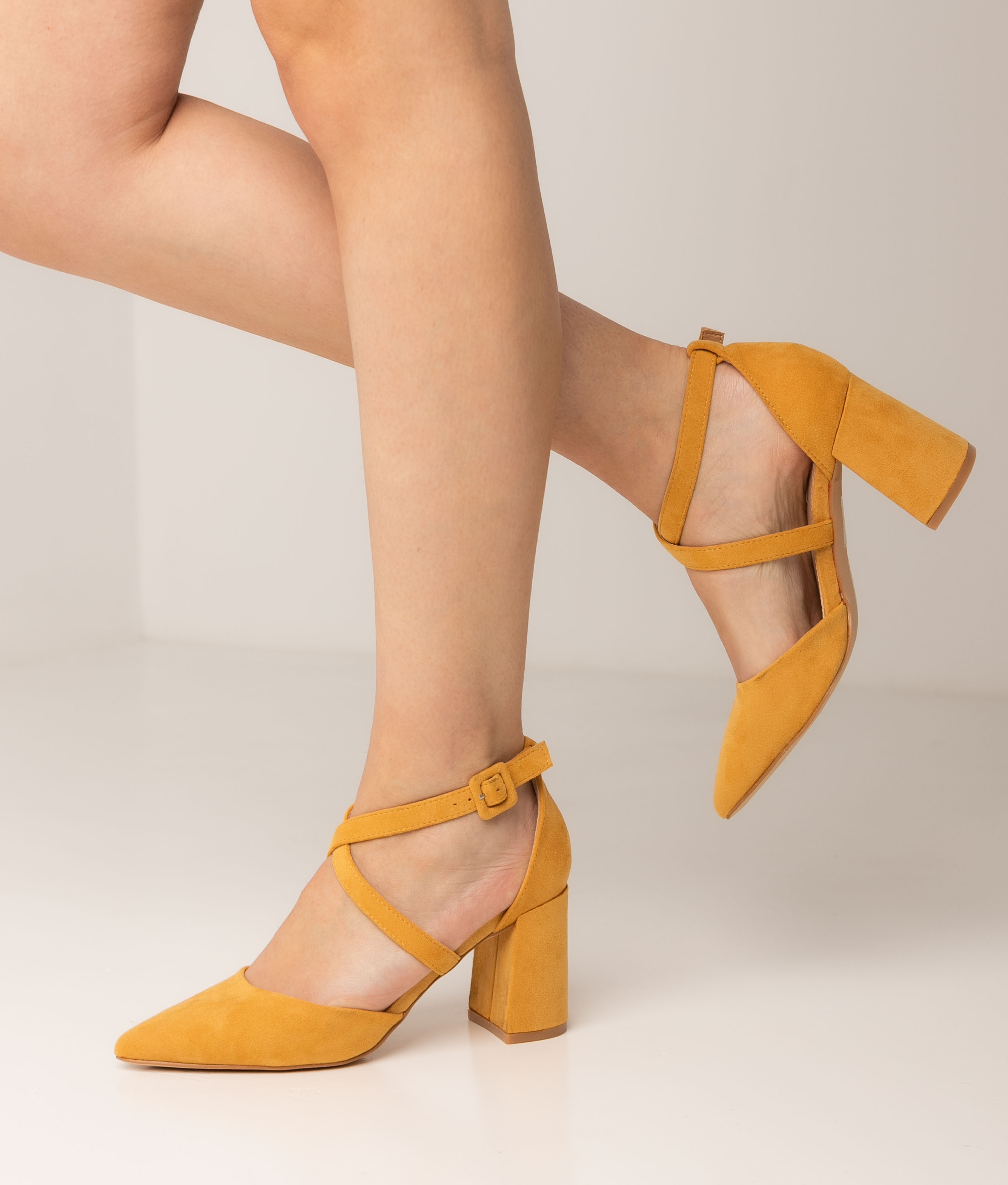 High Heel Pletia - Yellow