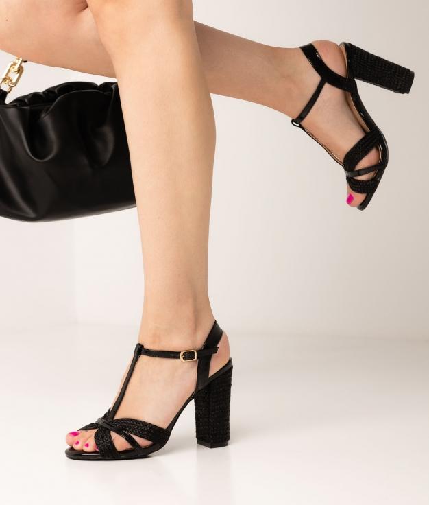 High Sandal Salsan - Black
