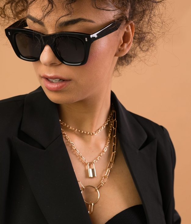 COLLAR YUNLE - GOLD