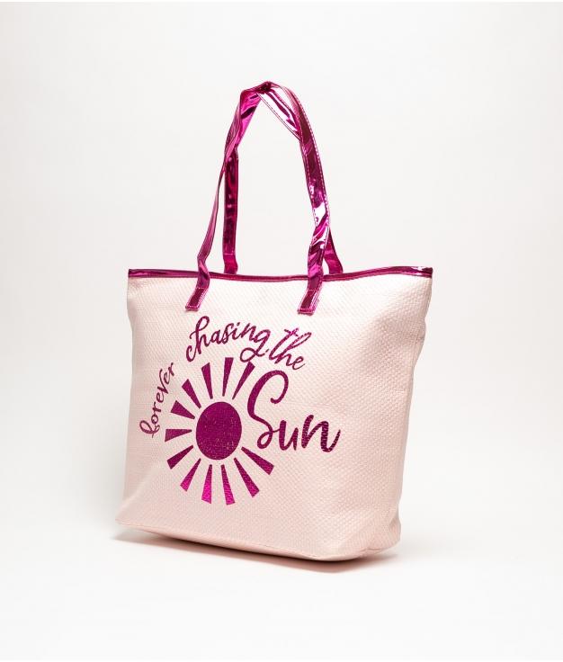 HELLO -SOL BEACH BAG