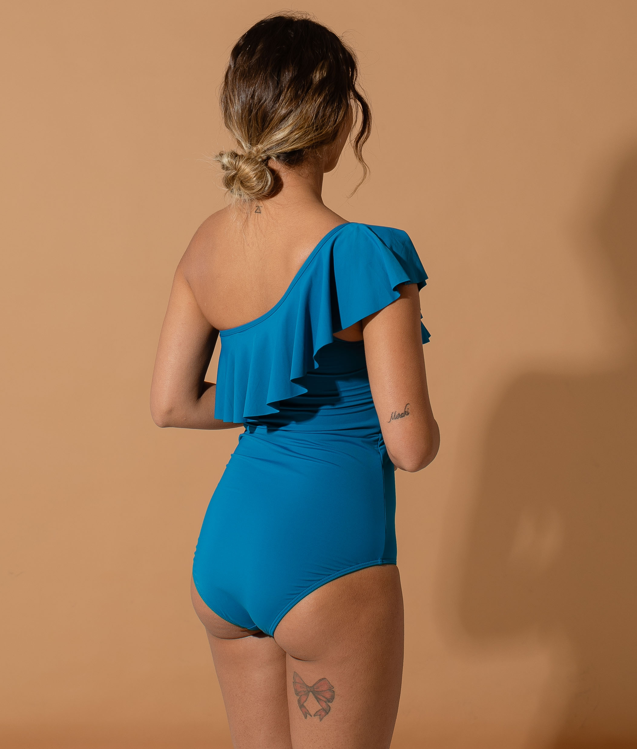 SWIMSUIT DAGARBE - BLUE