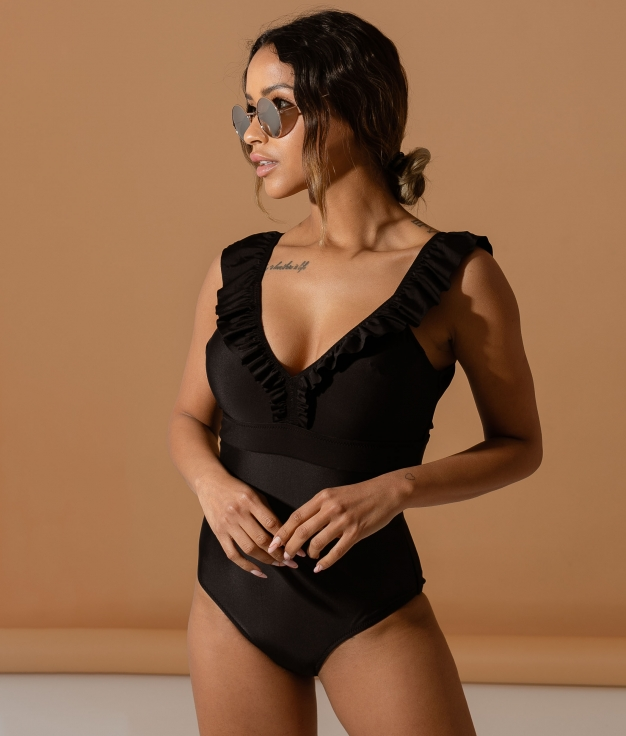 SWIMSUIT PEÑARTE - BLACK