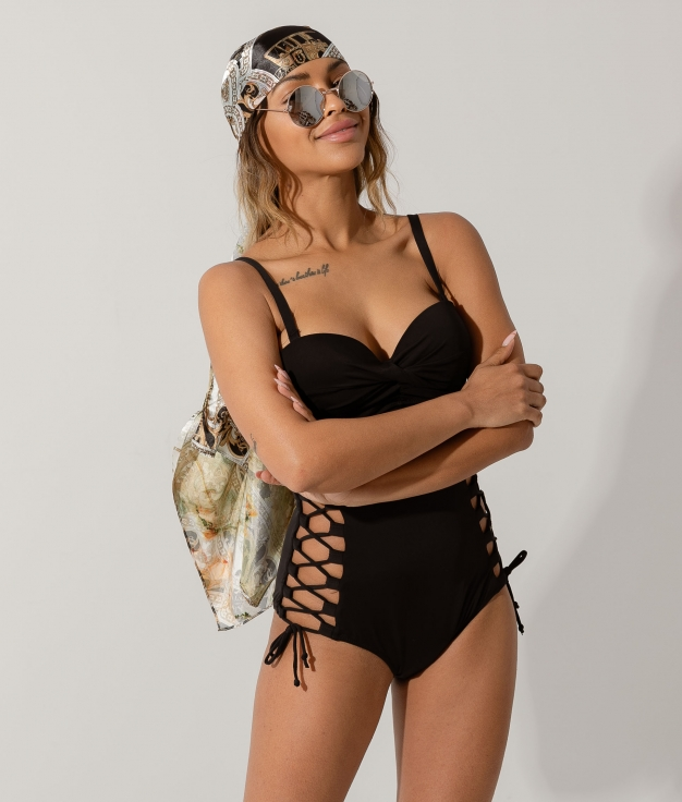 SWIMSUIT KINDARSE - BLACK
