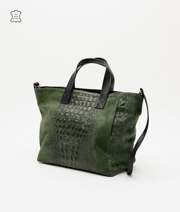 Leather bag Tesur - geen