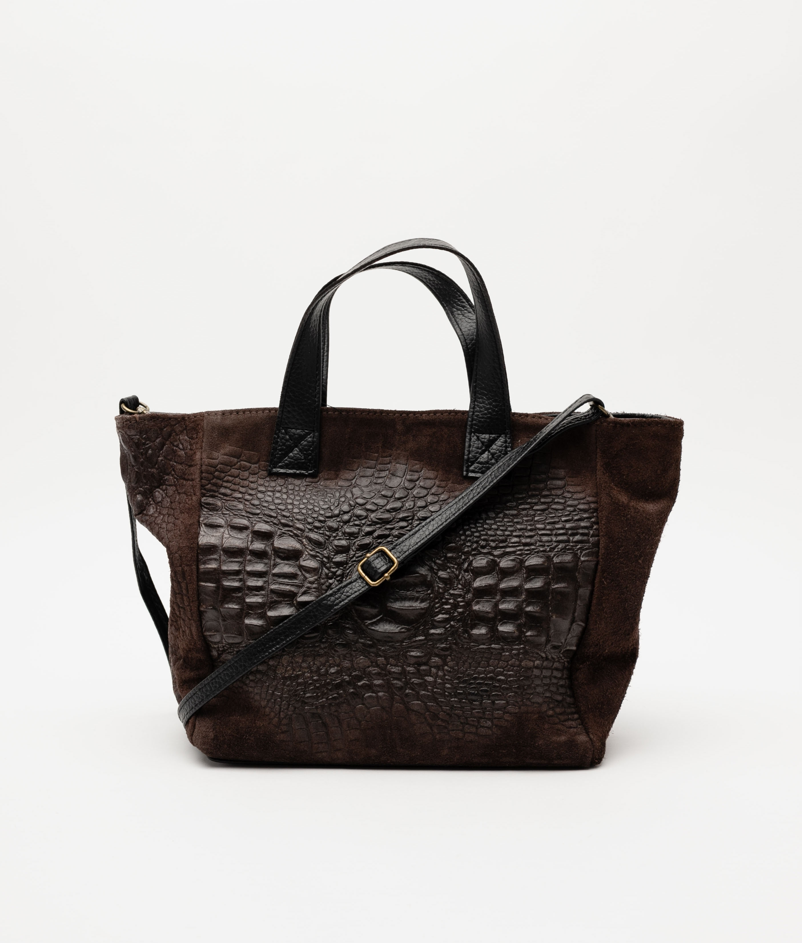 Leather bag Tesur - blue