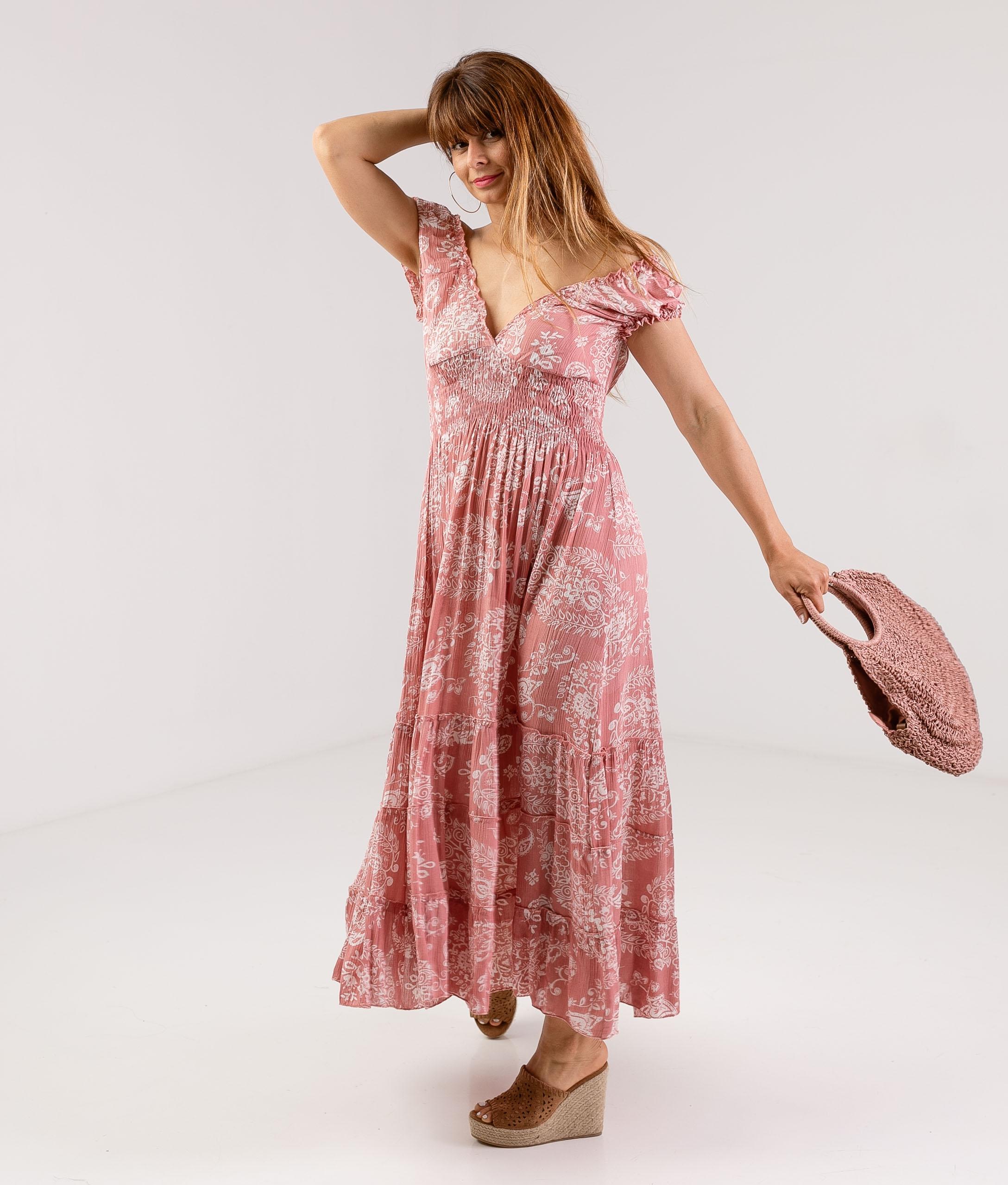DRESS KILCRE - PINK