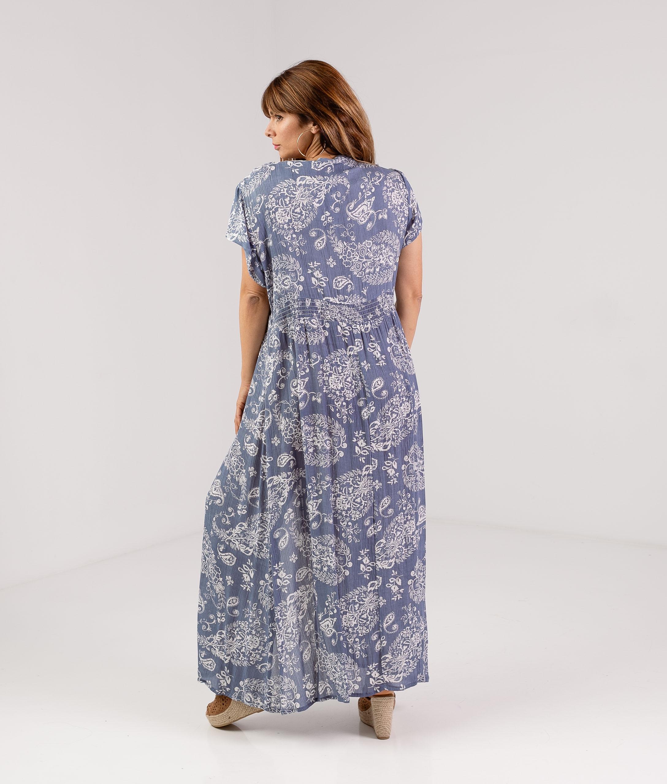 DRESS YUNSER - BLUE