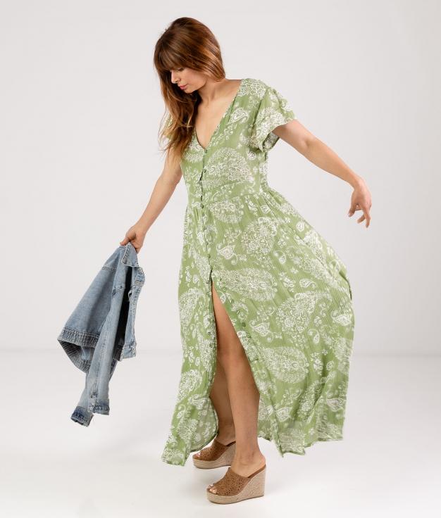 DRESS YUNSER - GREEN