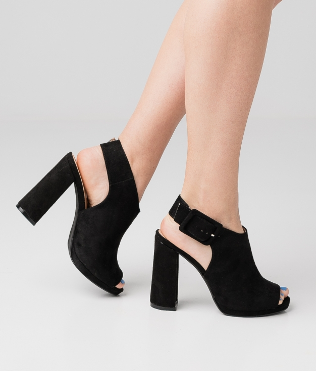 High Sandal Rotir - Black