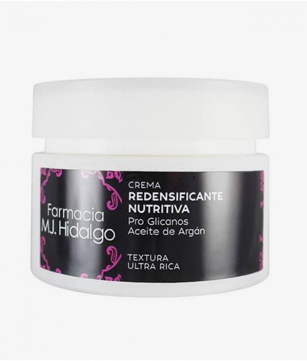 CREMA REDENSIFICANTE NUTRITIVA MJ HIDALGO - TEXTURA ULTRA RICA
