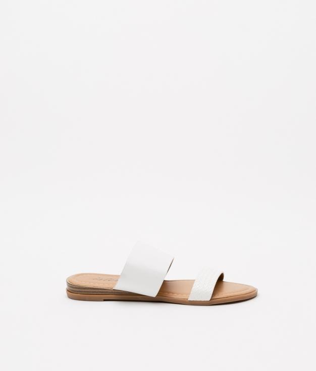TEOS SANDAL - WHITE