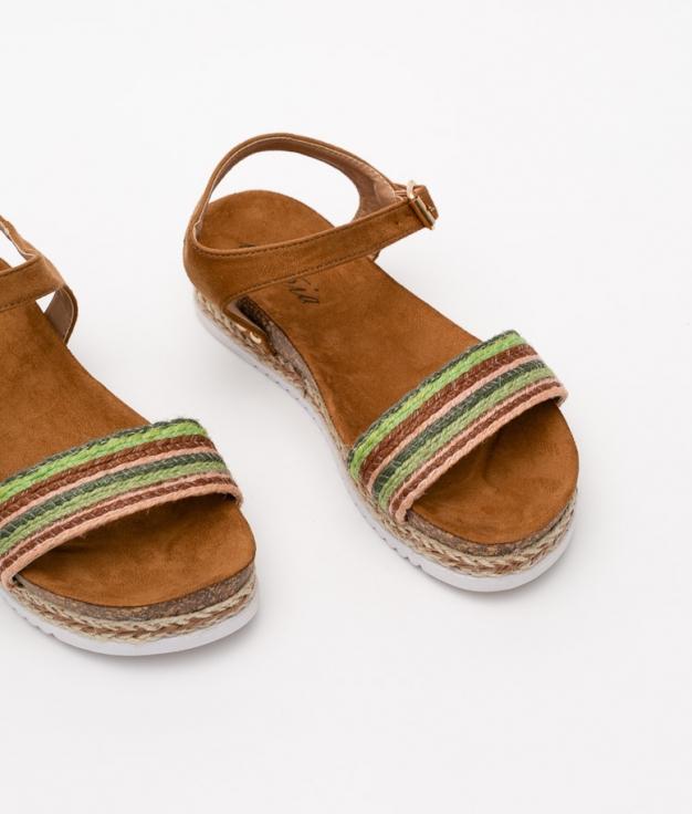 SANDALIA SIKEN - CAMELO
