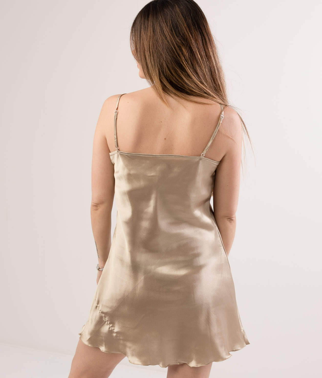NIGHTGOWN KIMBER - GOLD