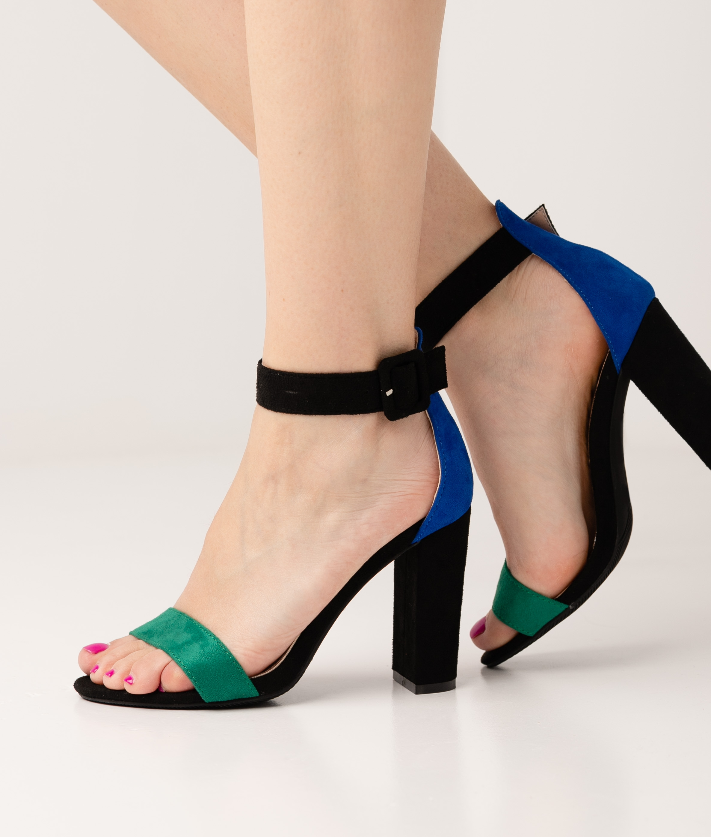 Sandalo Alto Noah - Verde/Blu