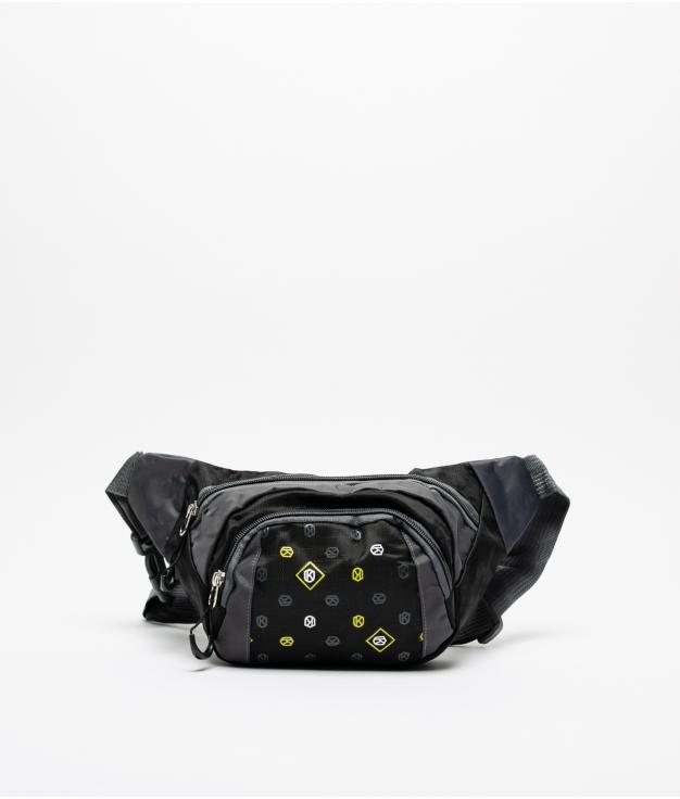 sac banane sevens - noir