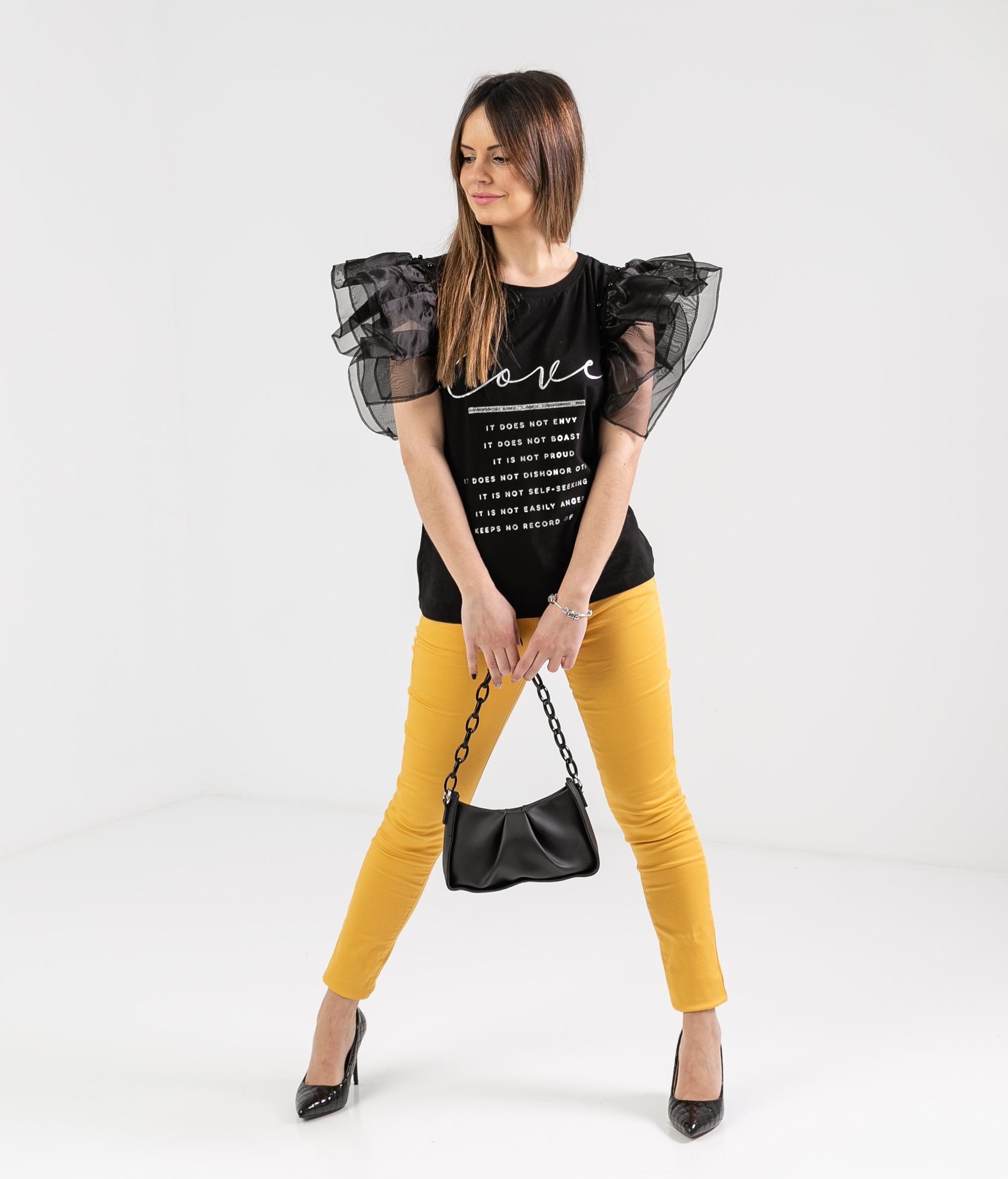 Pantalón Burun - Amarillo