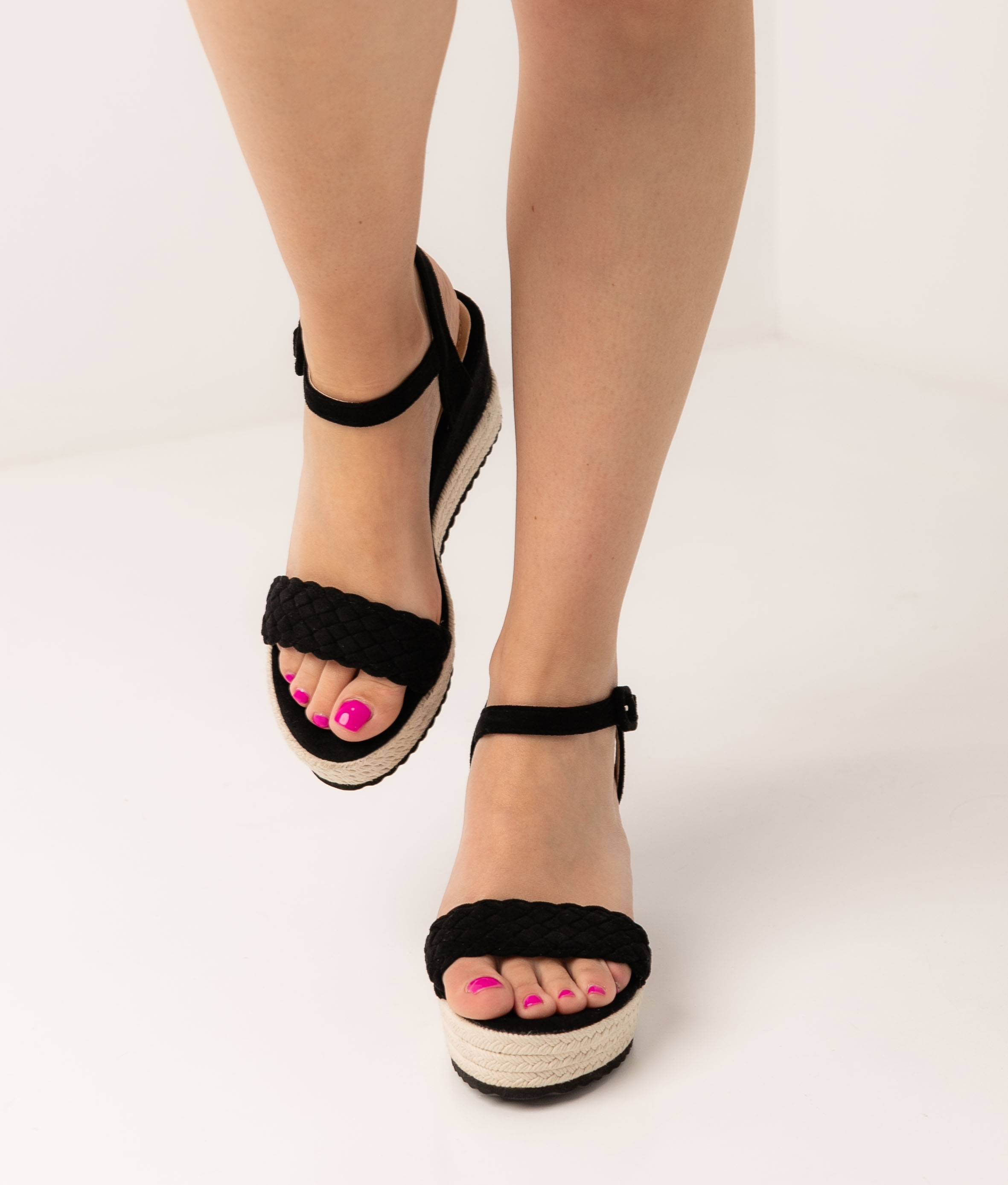Wedge Heel Linai - Black