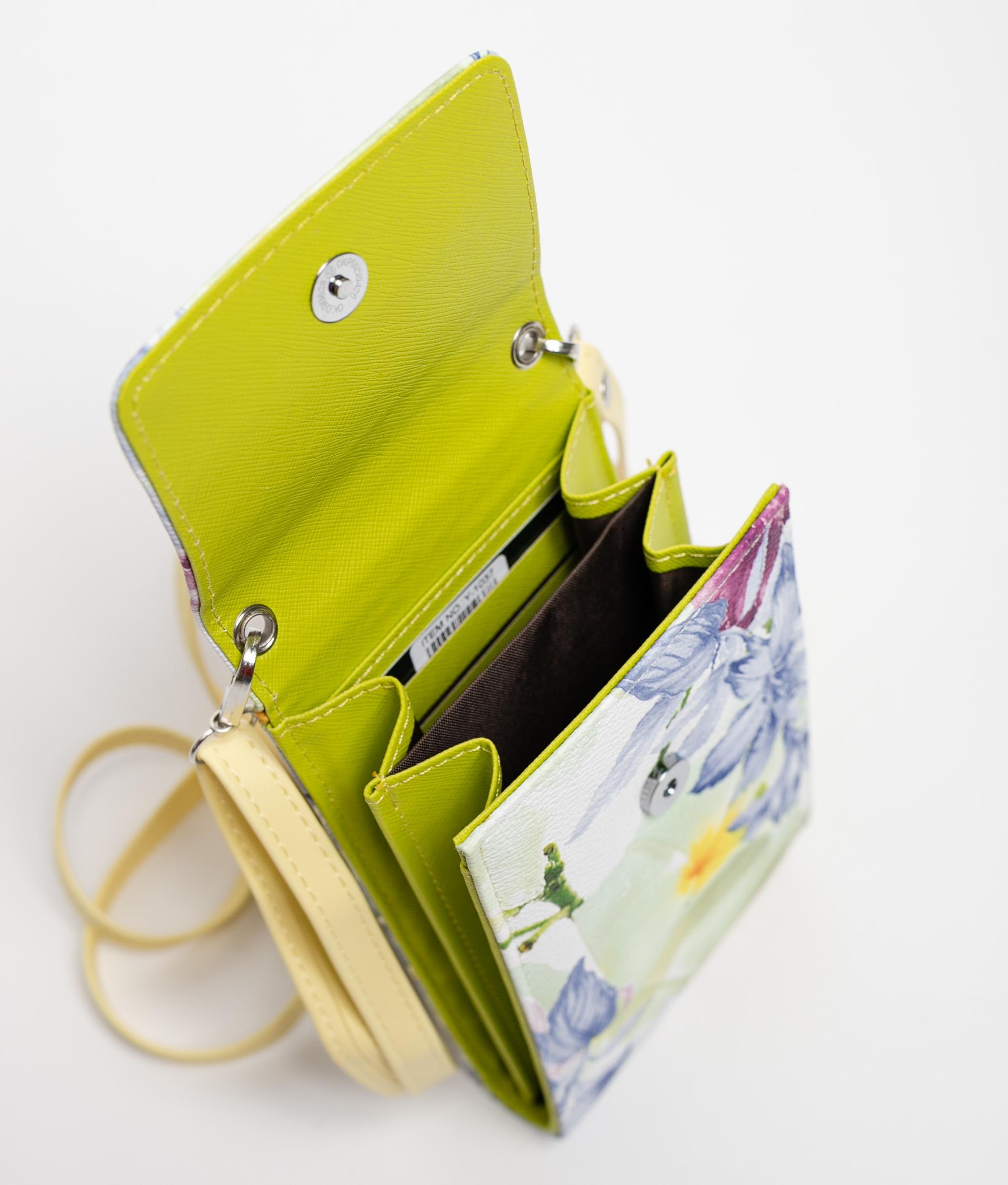 sweet cell phone holder - green