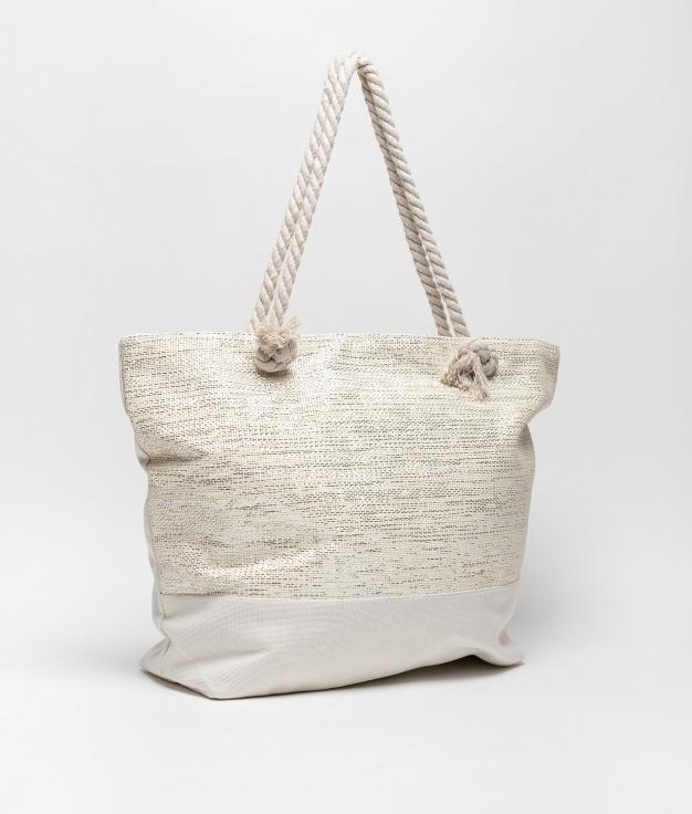 sac de plage maldives - blanc