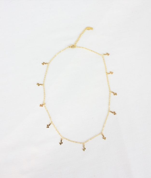 COLLIER FLAKI - D'OR